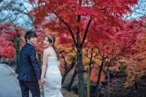 婚攝Edward,京都婚紗,楓葉婚紗,日本海外婚紗,和服婚紗,新秘Agness